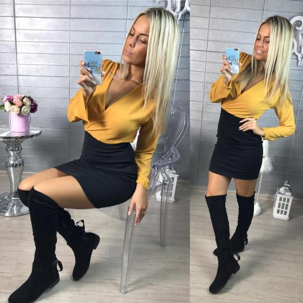 Šatičky Lilly žluté