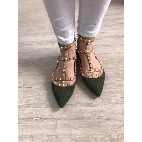 Khaki COCO sandálky