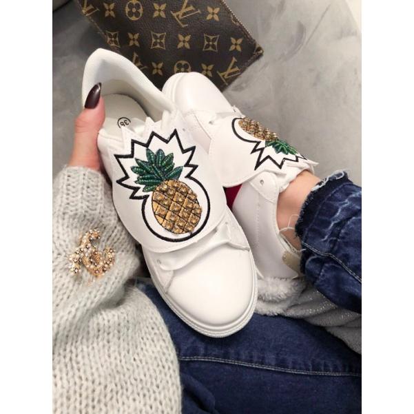 Stylové botičky pineapple