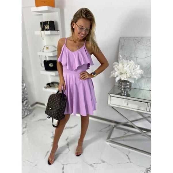 Šaty Clara - fialové