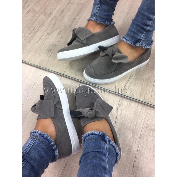 Krásné šedé botky