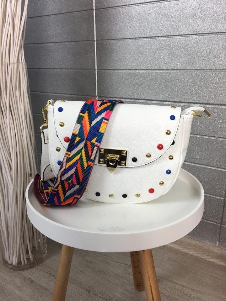 Krásná white kabelka
