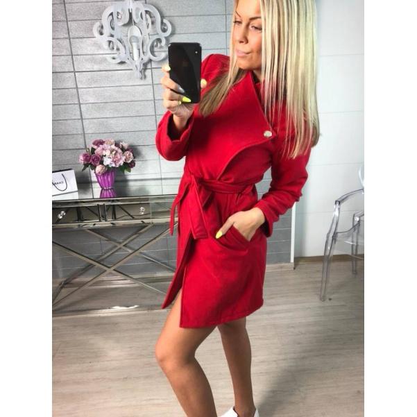 Kabátek Miley červený