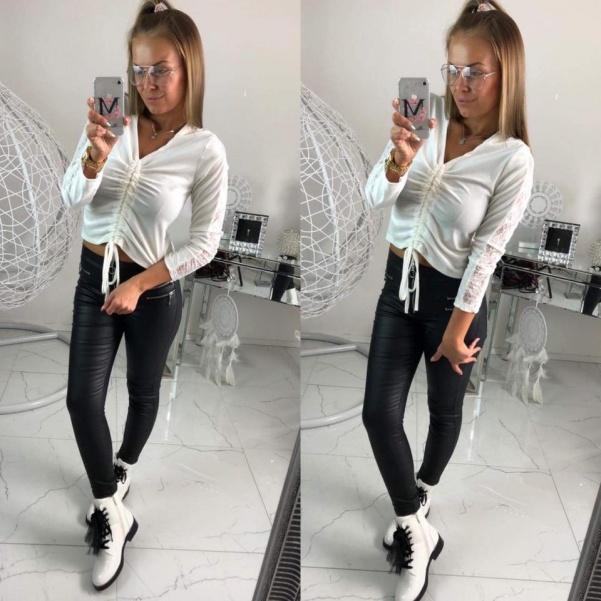 Tunika s krajkou - white