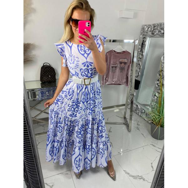 Šaty Luxury - fialové