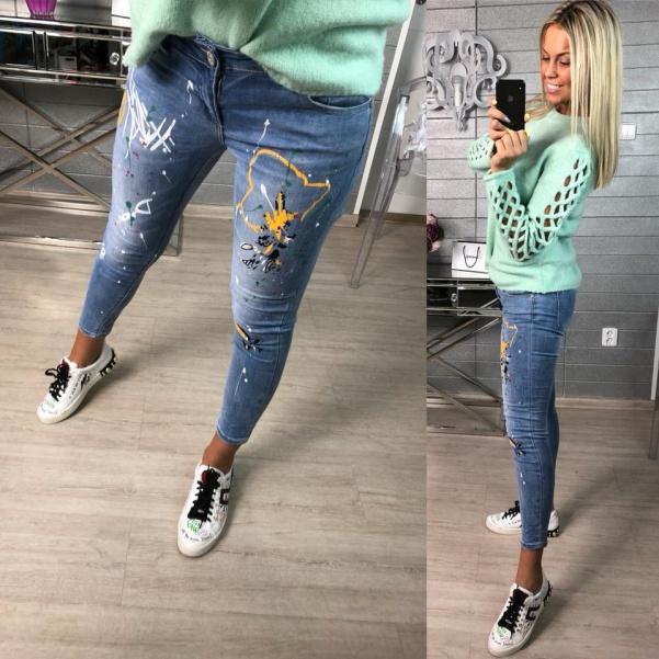 Úžasné color džíny