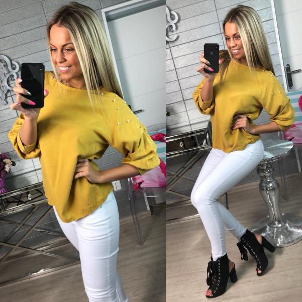 Tunika Bella žlutá