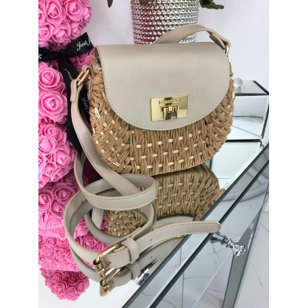 Krásná kabelka - béžová