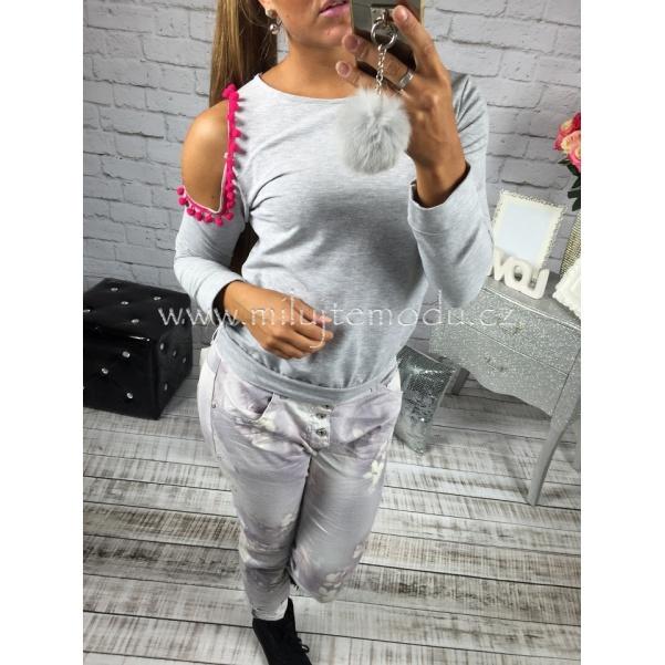 Mikina grey