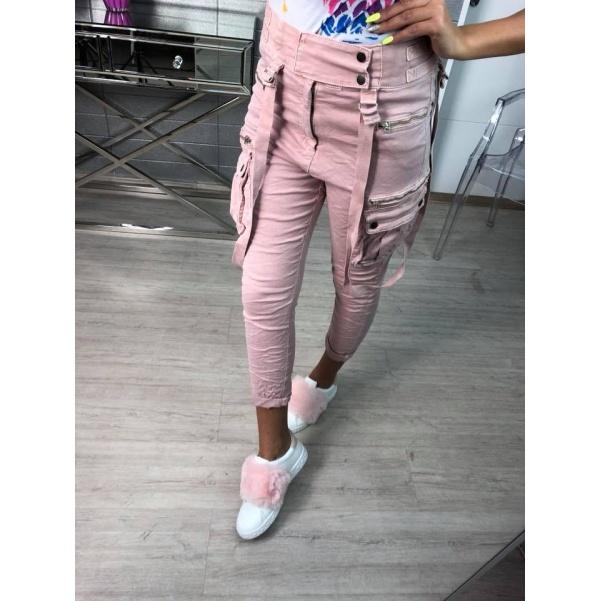 Top kalhoty růžové