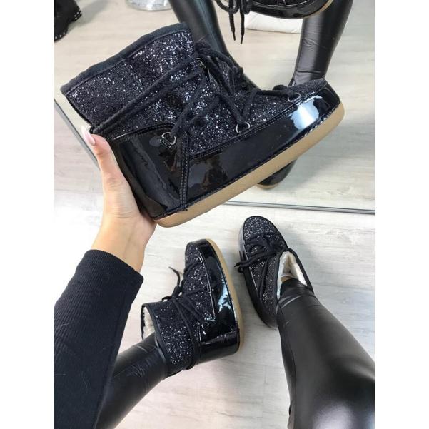 Luxusní sněhulky black
