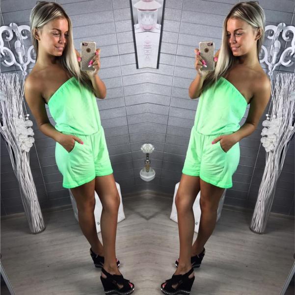 Neon zelený overálek