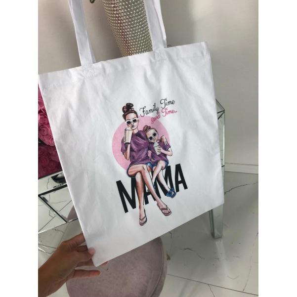 Plátěná taška - MAMA GIRL