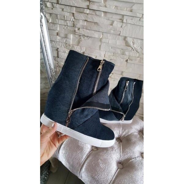 Jeans botky