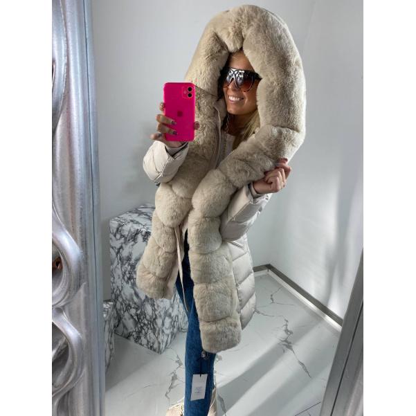 Luxusní bochánková zimní bunda - Mella