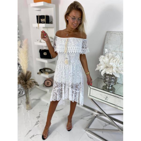 Krásné white šaty