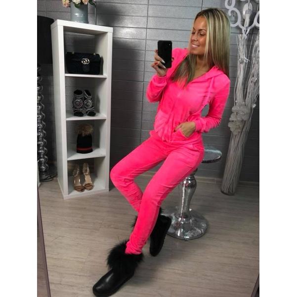 Neon růžová teplákovka