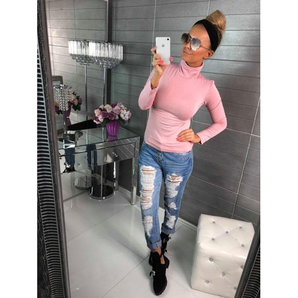 Super elastický rolák -pink