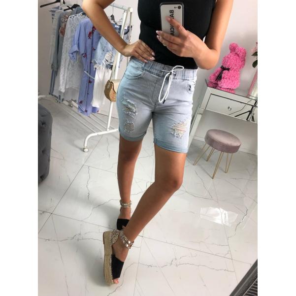 Jeans 3/4 kraťásky