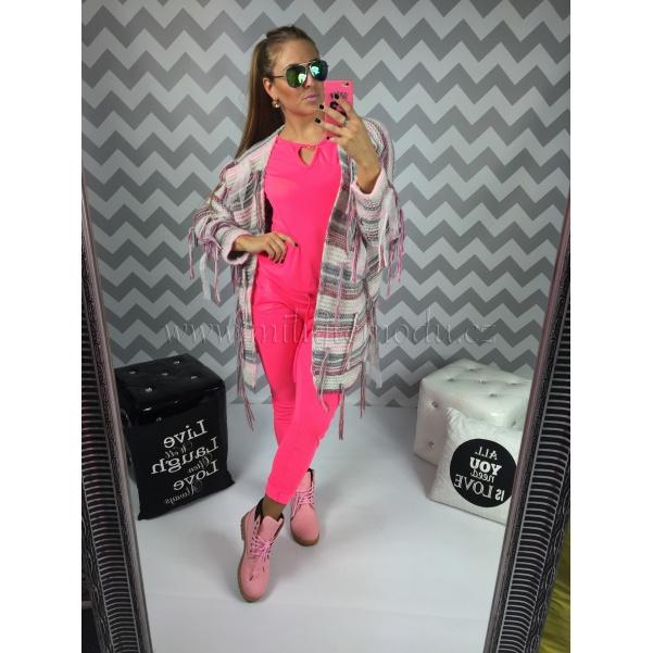 Luxusní svetr-cardigan