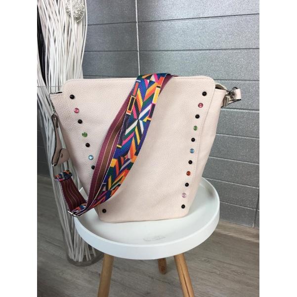 Top růžová kabelka - big
