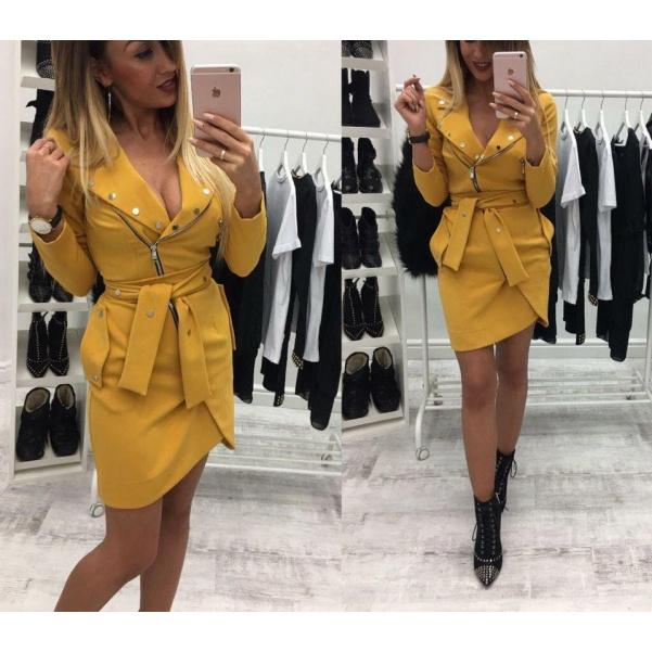Luxusní šatičky Yellow