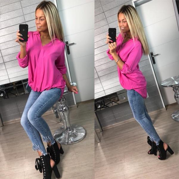 Halenka Colour - tm. růžová