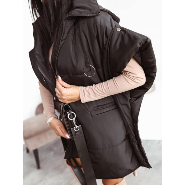 Extravagantní bunda Lora Black