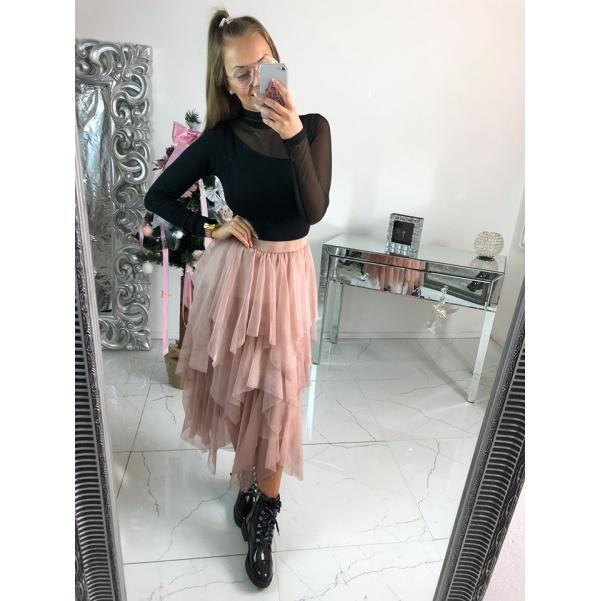 Top suknička - růžová