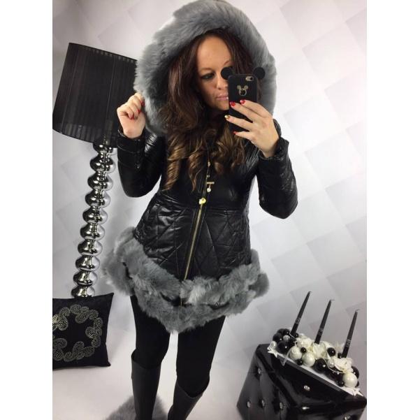 Krásny kabátek s kožíškem