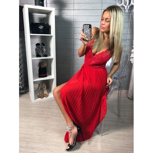 Luxusní šatový overal RED