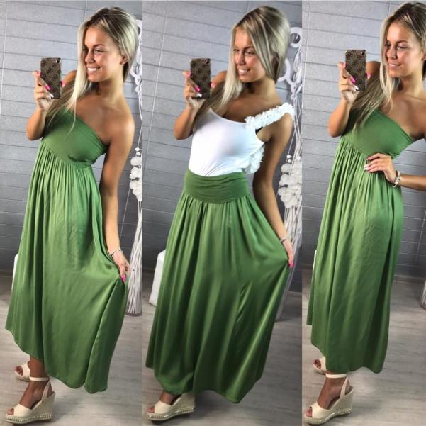 Suknička nebo šaty 2v1 bl.zelená