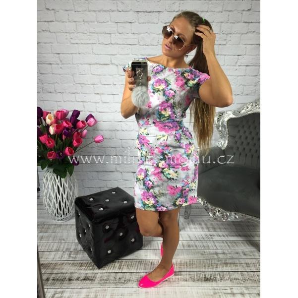 Letní šaty s květy