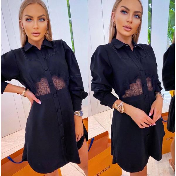 Šaty Lucia černé