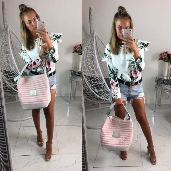 Pohodová růžová kabelka