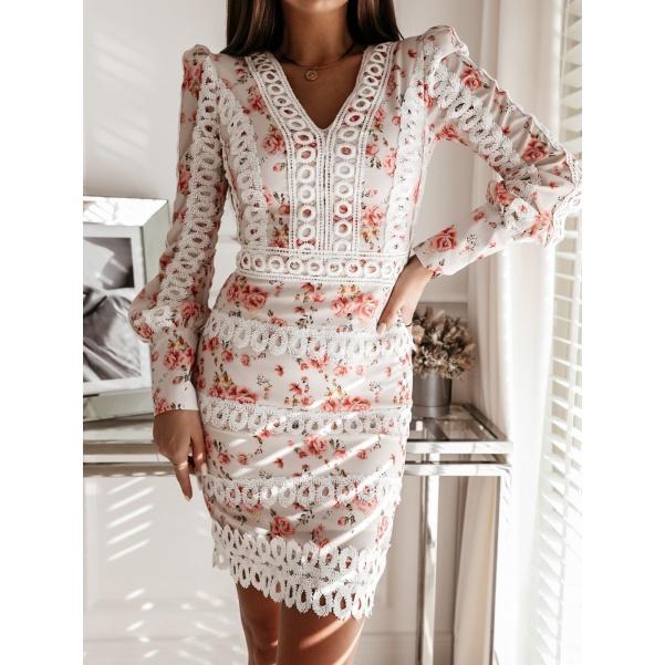 Luxusní šaty - Mademoisele pink
