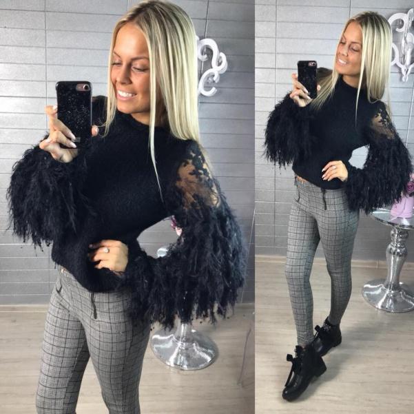 Lux svetřík černý