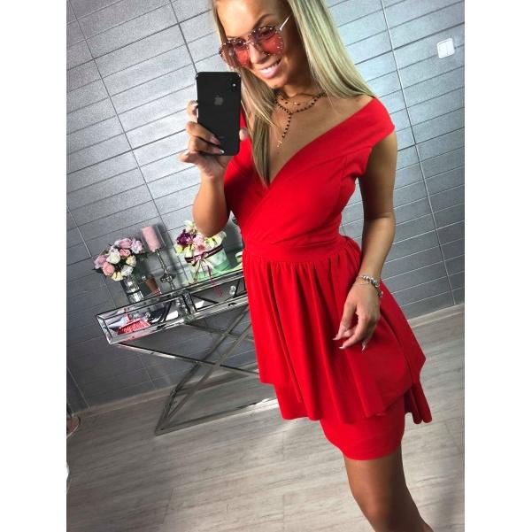 Romantic šatičky červené