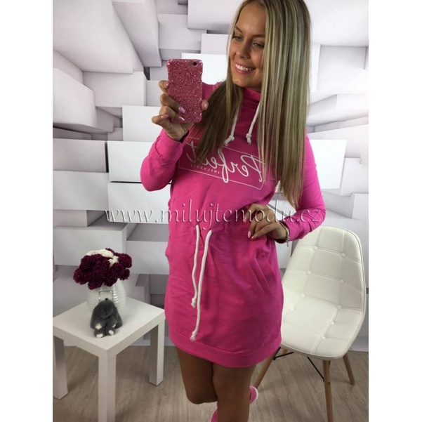 Růžové šatičky PERFECT
