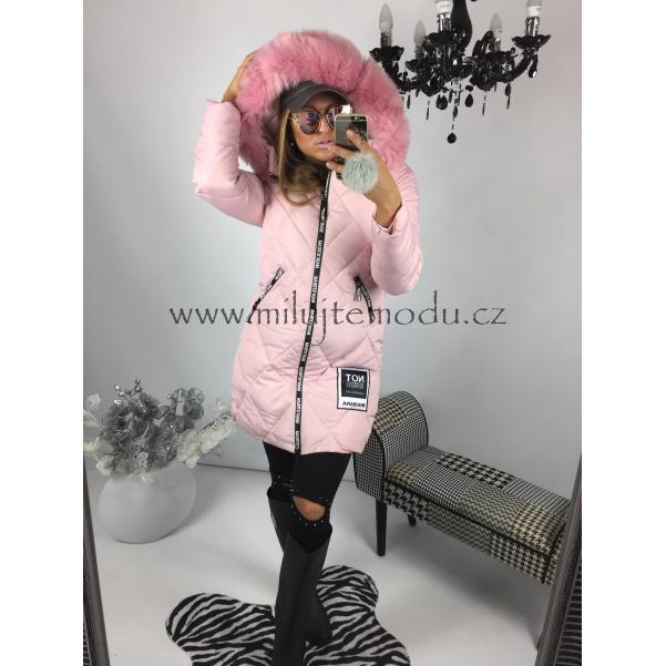 PINK prošívaná zimní bunda