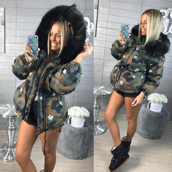Top parka ARMY