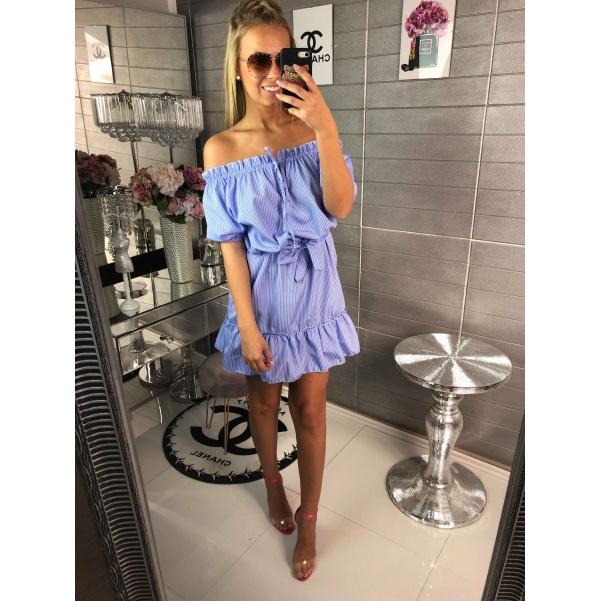 Šaty Mily modré