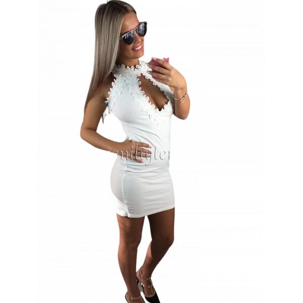 Top bílé šatičky
