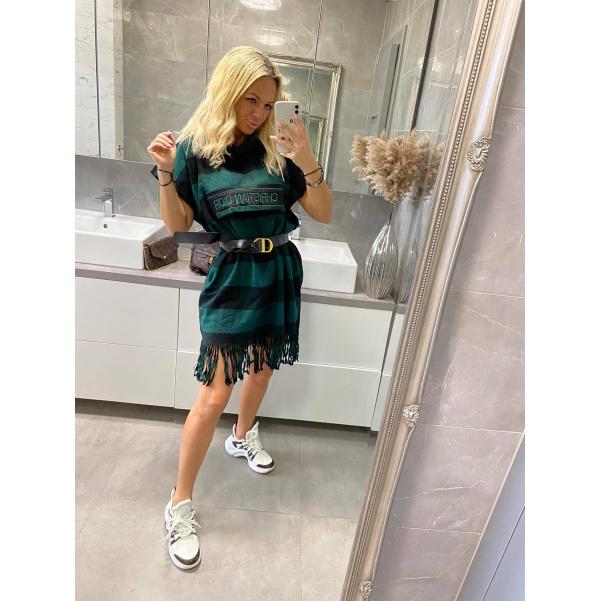 TOP šaty Christina zelené