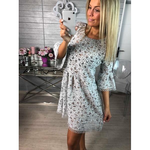 Luxusní krajkové šaty - Melisa