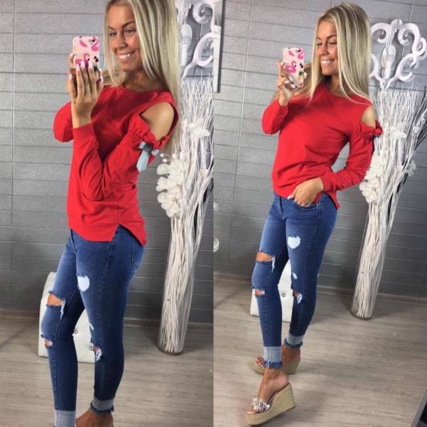 Mikinka RED