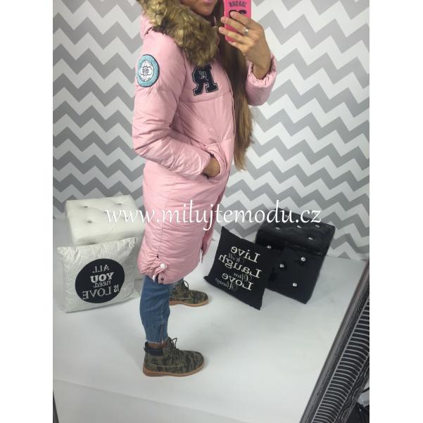 Růžová pink bunda NEW