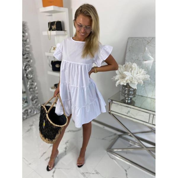 Super šaty - bílé