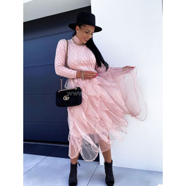 Šaty s tylovou sukní  PINKI