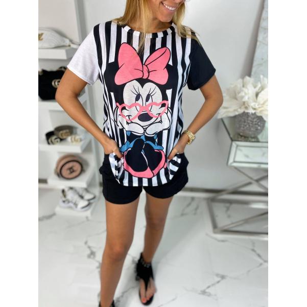 Dokonalé tričko Disnay Minnie pinki